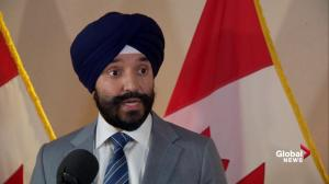 U.S. tariffs on Canadian steel 'boggle the mind': Bains